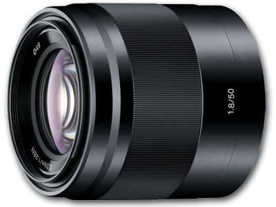 50mm f1.8 E OSS Lens Black