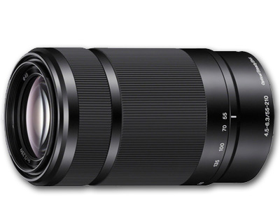 55-210mm f4.5-6.3 E OSS E-Mount Lens Black