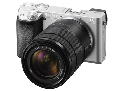 a6300 Camera With 18-135 Lens Silver colour