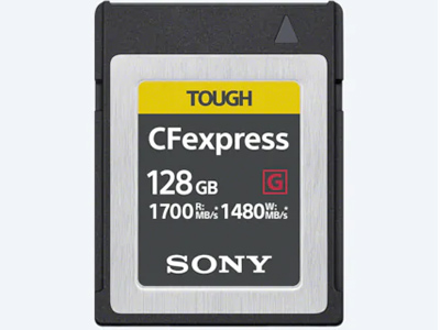 128GB CFexpress TOUGH Memory Card Type B