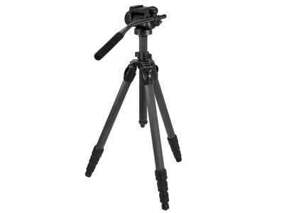 CCT Compact Carbon Tripod with CTH Compact Head