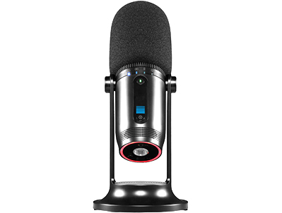 MDrill One Pro USB Microphone Black