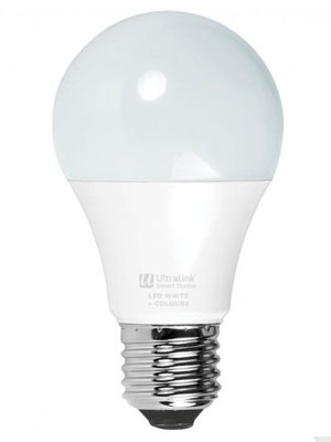 Smart WiFi RGB+CCT Light Bulb LED (A19 Bulb)