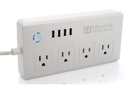 Smart WiFi Surge Protector Power Bar