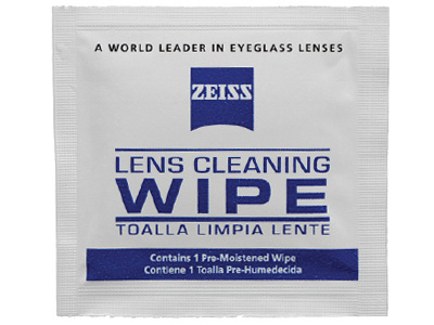 Zeiss Lens Cleaning Wipes with Pouch (20 pack)